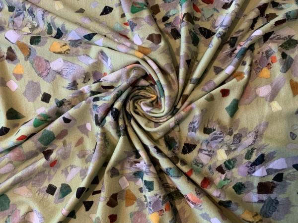 Viskosejersey Mosaik