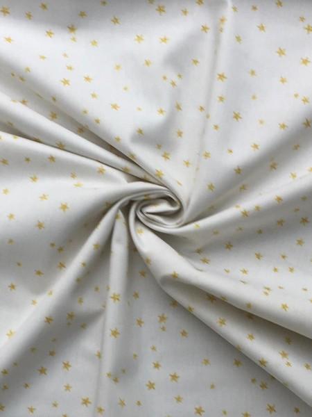 Baumwollwebstoff Stern