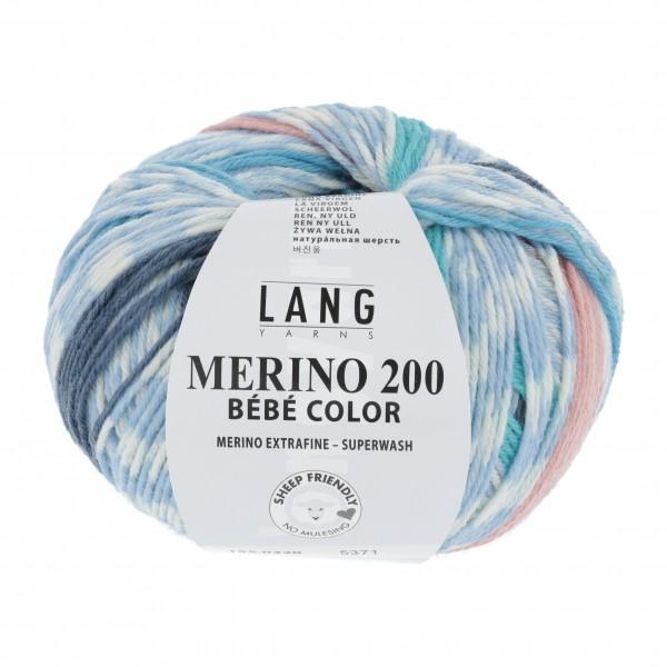 Merino 200 Bebe Color Stripes