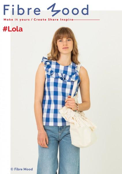 Lola Blau- Weiß kariert